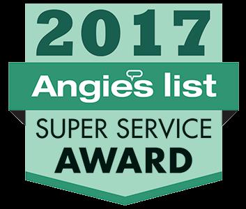 Angie's List 2017 Super Service Award Badge